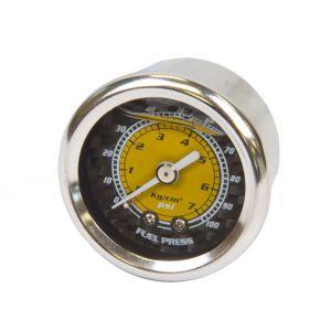 NRG Innovations Manometre Pression Essence Carbon-77894