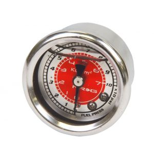 NRG Innovations Manometre Pression Essence Rouge-77896