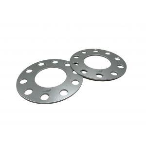 JR-Wheels Cales de Roue JRWS1 Argent Aluminium-76725