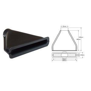 QSP Ecope Noir 63.5mm-53346