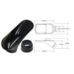 QSP Ecope Noir 63.5mm-53355