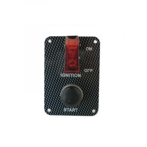 QSP Platine de Demarrage Carbon Look-53680