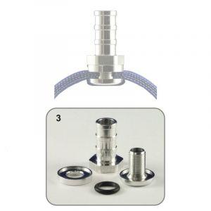 QSP Raccord de Tuyau Self-Sealing Aluminium-53296