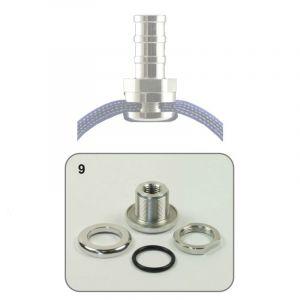 QSP Raccord de Tuyau Self-Sealing -10 AN Aluminium-53302