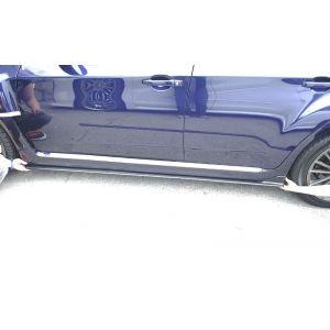 PU Design Jupes Laterales STI S206 Bottom Line Noir Polyurethane Subaru Impreza-55513