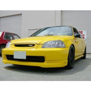 PU Design Avant Lame de Pare-Choc CTR Style Noir Polyurethane Honda Civic Pre Facelift-30158