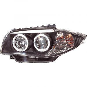 SK-Import Phares Avants Angel Eyes Noir BMW 1 Serie-78913