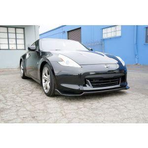 PU Design Avant Lame de Pare-Choc INGS Style Noir Polyurethane Nissan 370Z-63570