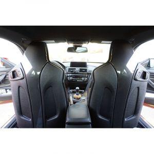 CarbonWorks Housses de Sièges avec Appui-Tête M-Performance Style Carbone BMW 3-serie,4-serie-67126