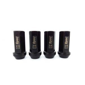 D1 Spec Kit Ecrous de Roues Noir Acier M12x1.5-56478-1.5
