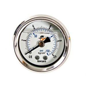 D1 Spec Manometre Pression Essence Blanc-46923