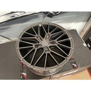 JR-Wheels JR38 Jantes 18 Pouces 8J ET40 5x120 Hyper Gris-W2029