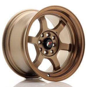 JR-Wheels JR12 Jantes 15 Pouces 8.5J ET13 4x100,4x114.3 Foncé(e) Anodizé(e) Bronze-55696-4