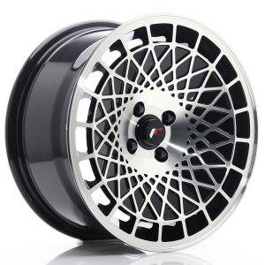 JR-Wheels JR14 Jantes 16 Pouces 8J ET15 4x100 Brillant(e) Noir Machined-55813-3