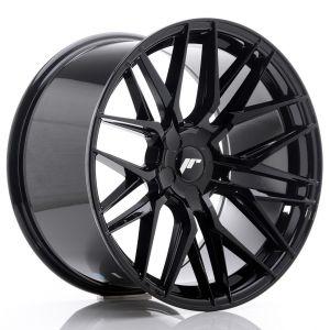 JR-Wheels JR28 Jantes 19 Pouces 10.5J ET20-40 Custom PCD Brillant(e) Noir-62961
