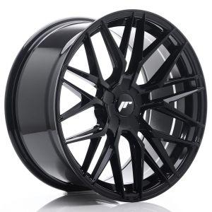 JR-Wheels JR28 Jantes 19 Pouces 9.5J ET20-40 Custom PCD Brillant(e) Noir-62977