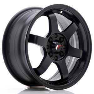 JR-Wheels JR3 Jantes 15 Pouces 7J ET25 4x100,4x108 Mat Noir-47156-19