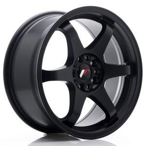 JR-Wheels JR3 Jantes 17 Pouces 8J ET35 5x100,5x114.3 Mat Noir-47156-2