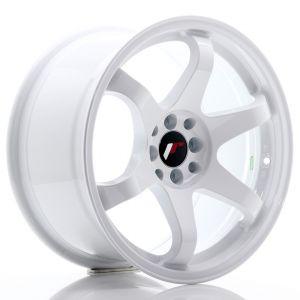 JR-Wheels JR3 Jantes 17 Pouces 9J ET20 4x100,4x114.3 Blanc-47160-7