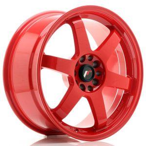 JR-Wheels JR3 Jantes 18 Pouces 8.5J ET15 5x114.3,5x120 Rouge-55691-3