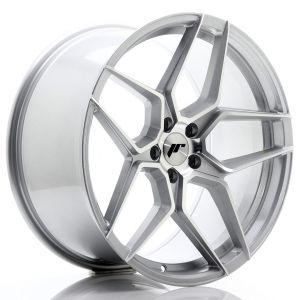 JR-Wheels JR34 Jantes 20 Pouces 10J ET40 5x120 Silver Machined-67500