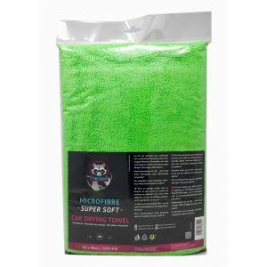 Racoon Car Drying Towel Vert Microfibre-77451