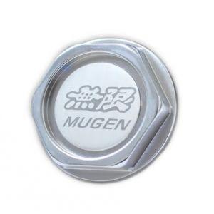 SK-Import Bouchon d'huile moteur Mugen Style Argent Aluminium Honda Civic,CRX,Del Sol-39547