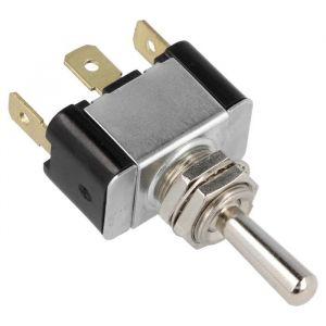 QSP Interrupteur Sur - Off - Temporairement Sur Argent-80200