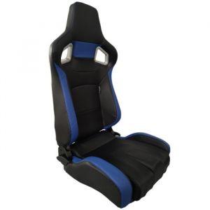 SK-Import Siège RS6 II Adjustable Noir - Bleu-41115