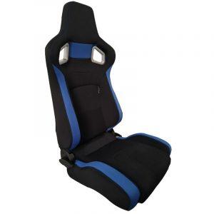 SK-Import Siège RS6 II Adjustable Noir - Bleu-66185