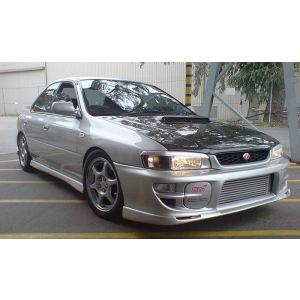 PU Design Avant Lame de Pare-Choc STI Style Noir Polyurethane Subaru Impreza Facelift-30180