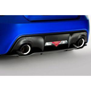 SK-Import Arrière Diffuseur Noir Plastique ABS Subaru,Toyota-55622