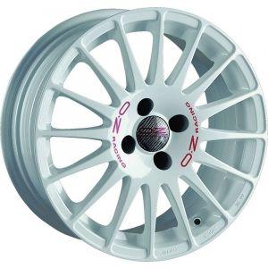 OZ-Racing Superturismo WRC Jantes 15 Pouces 6.5J ET43 4x100 Blanc-75366