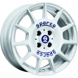 Sparco Terra Jantes 16 Pouces 7J ET42 4x100 Blanc-75540
