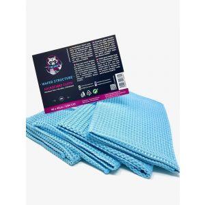 Racoon Wafer Microfibre Cloth Bleu Microfibre-77452